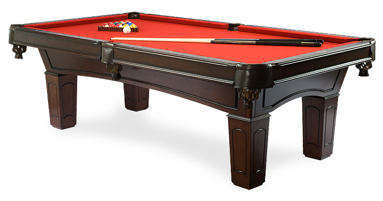 Table de billard Ascot Noyer